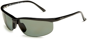 Ray Ban RB4021P Sunglasses - Black/Grey Lens